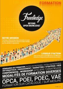 Plaquette des formation Freeledge